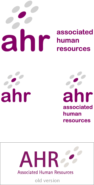 ahr associated human resources logo redesigned by ionic