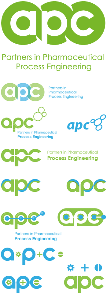 APC logo designed by ionic