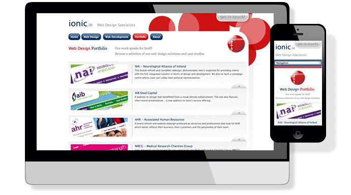Responsive Web Design Ionic